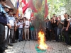 Picket in front of the consulate of Hungary in Yerevan