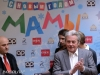 "Press conference dedicated to the ""Happy New Year, Mothers"" movie attended by world known French actor Alain Delon at Golden Tulip Hotel"