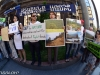 """""""Save Teghut"""" environmental protest action starting in front of the VTB bank"""